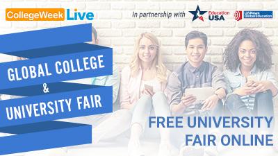 Global College & University Fair Banner