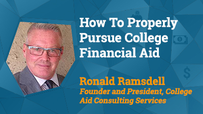 Presentation Pic: How to Pursue College Financial Aid